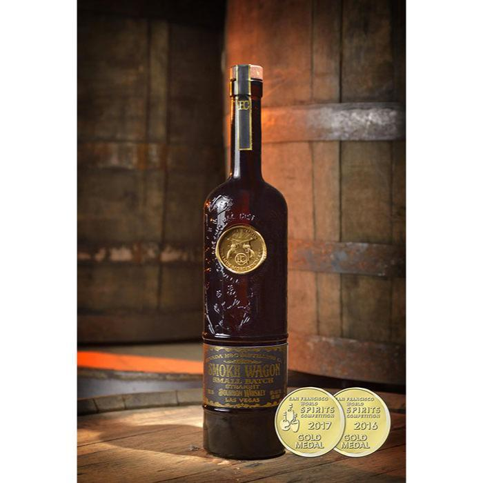 Buy Smoke Wagon Small Batch Bourbon online from the best online liquor store in the USA.