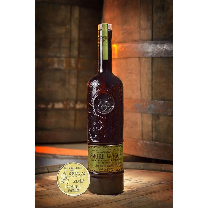 Buy Smoke Wagon Uncut Unfiltered Bourbon Whiskey online from the best online liquor store in the USA.
