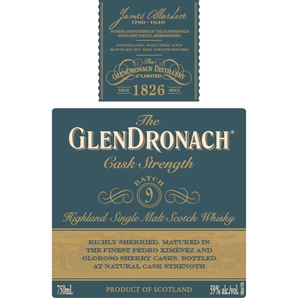 Buy The Glendronach Cask Strength Batch 9 online from the best online liquor store in the USA.