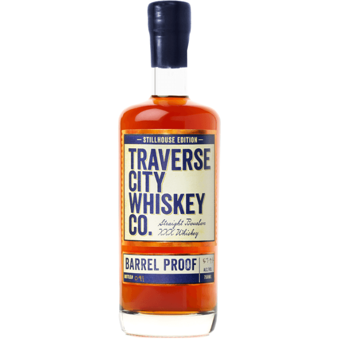 Buy Traverse City Whiskey Co. Barrel Proof Bourbon online from the best online liquor store in the USA.