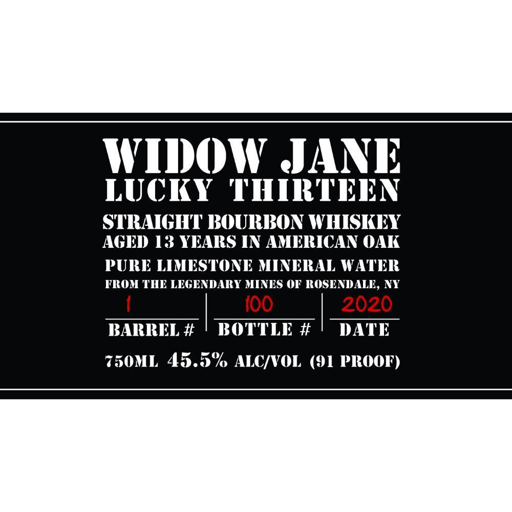 Buy Widow Jane Lucky 13 online from the best online liquor store in the USA.