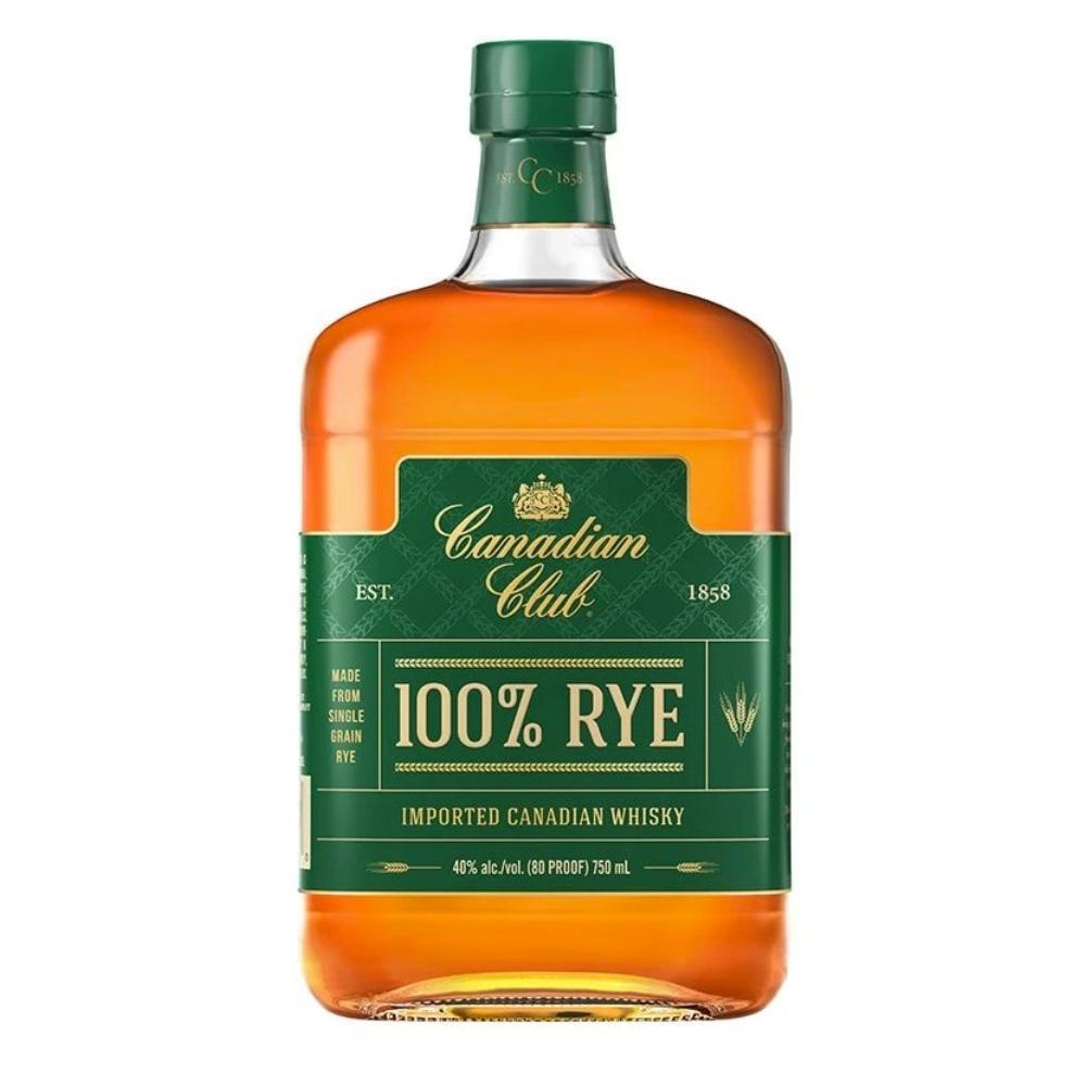 Canadian Club 100% Rye Canadian Whisky Canadian Club Whisky