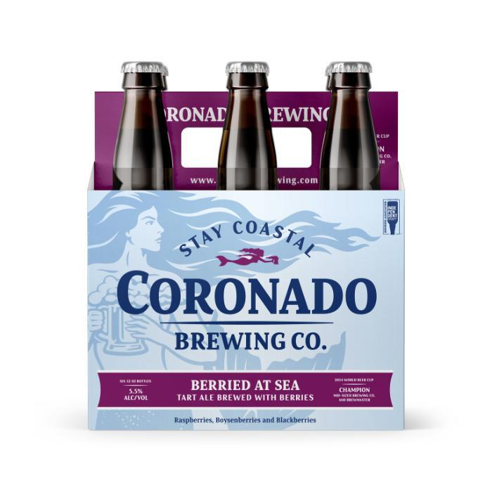 Buy Coronado Brewing Berried At Sea online from the best online liquor store in the USA.