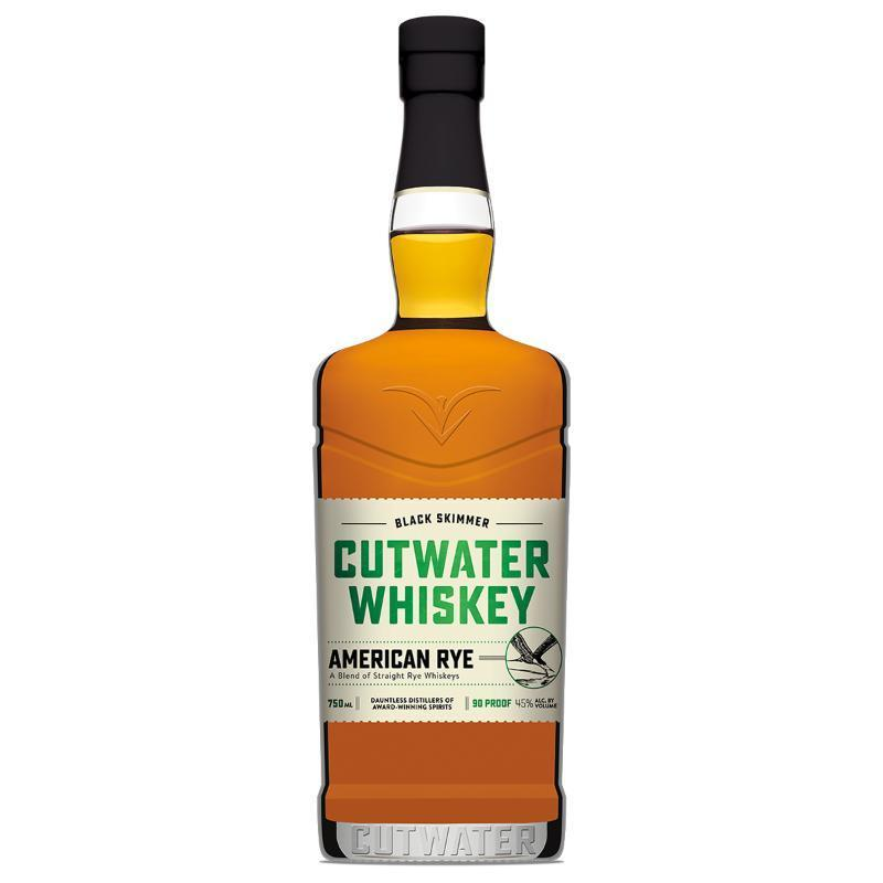 Buy Cutwater Whiskey Black Skimmer American Rye online from the best online liquor store in the USA.