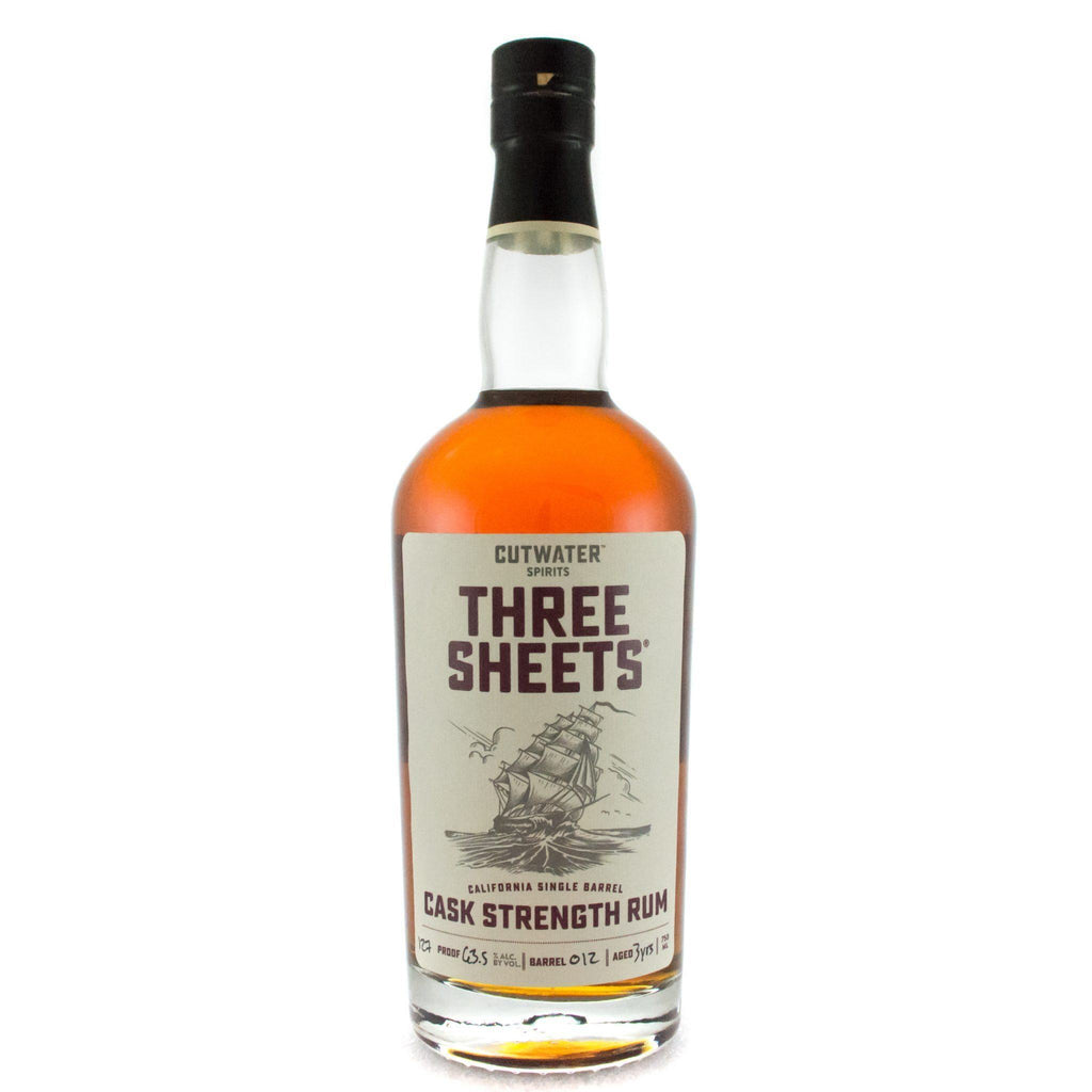Buy Three Sheets Cask Strength Rum online from the best online liquor store in the USA.