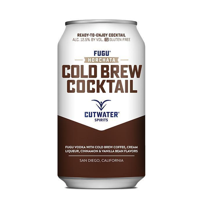 Buy Fugu Horchata Cold Brew  (4 Pack - 12 Ounce Cans) online from the best online liquor store in the USA.