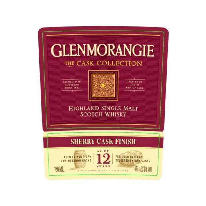 Buy Glenmorangie The Cask Collection 12 Year Old Sherry Cask Finish online from the best online liquor store in the USA.
