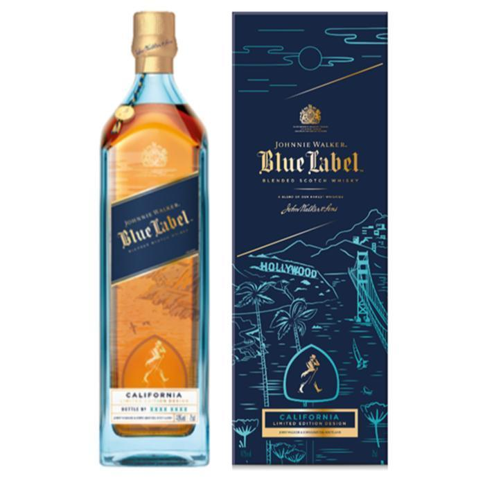 Buy Johnnie Walker Blue Label California Limited Edition Design 2019 online from the best online liquor store in the USA.