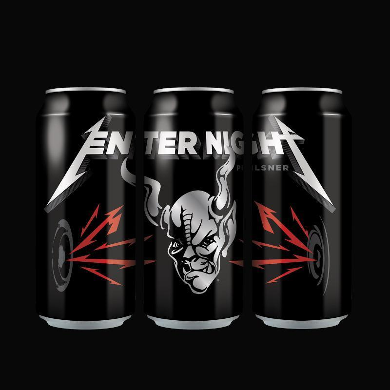 Buy Stone Brewing Enter Night Pilsner By Metallica online from the best online liquor store in the USA.