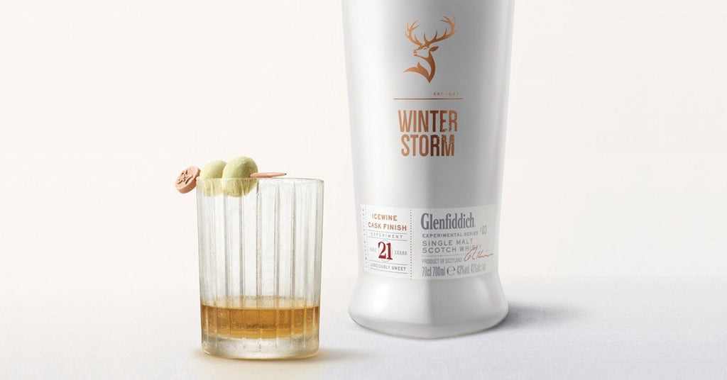 Buy Glenfiddich Winter Storm 21 Year Old Ice Wine Cask Single Malt online from the best online liquor store in the USA.