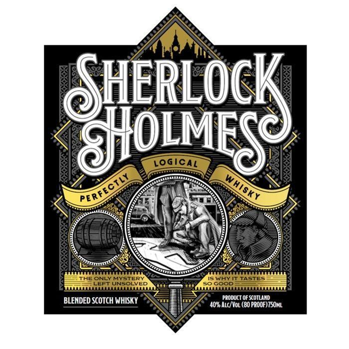 Buy Sherlock Holmes Perfectly Logical Whisky online from the best online liquor store in the USA.