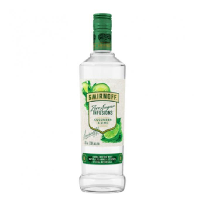 Buy Smirnoff Zero Sugar Infusions Cucumber and Lime online from the best online liquor store in the USA.