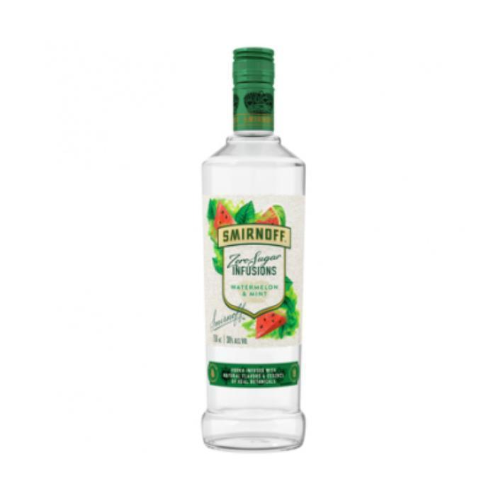 Buy Smirnoff Zero Sugar Infusions Watermelon and Mint online from the best online liquor store in the USA.