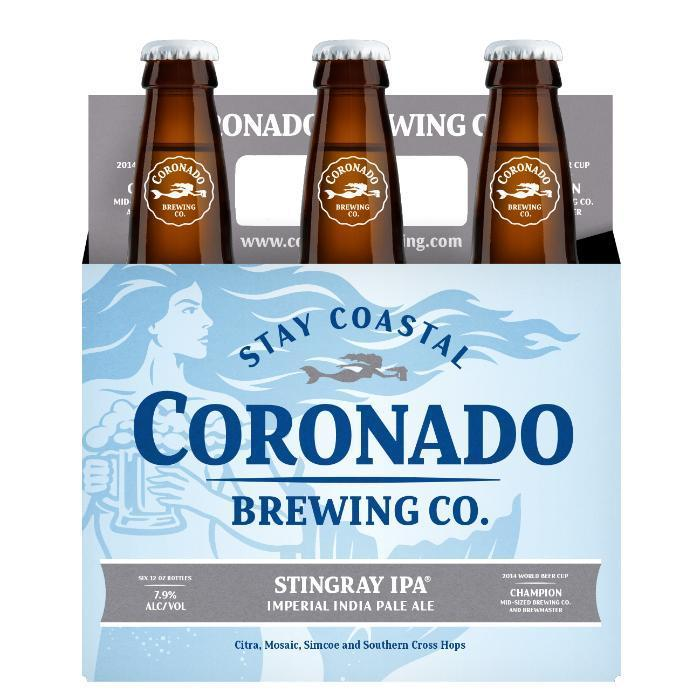 Buy Coronado Brewing Company Stingray IPA online from the best online liquor store in the USA.