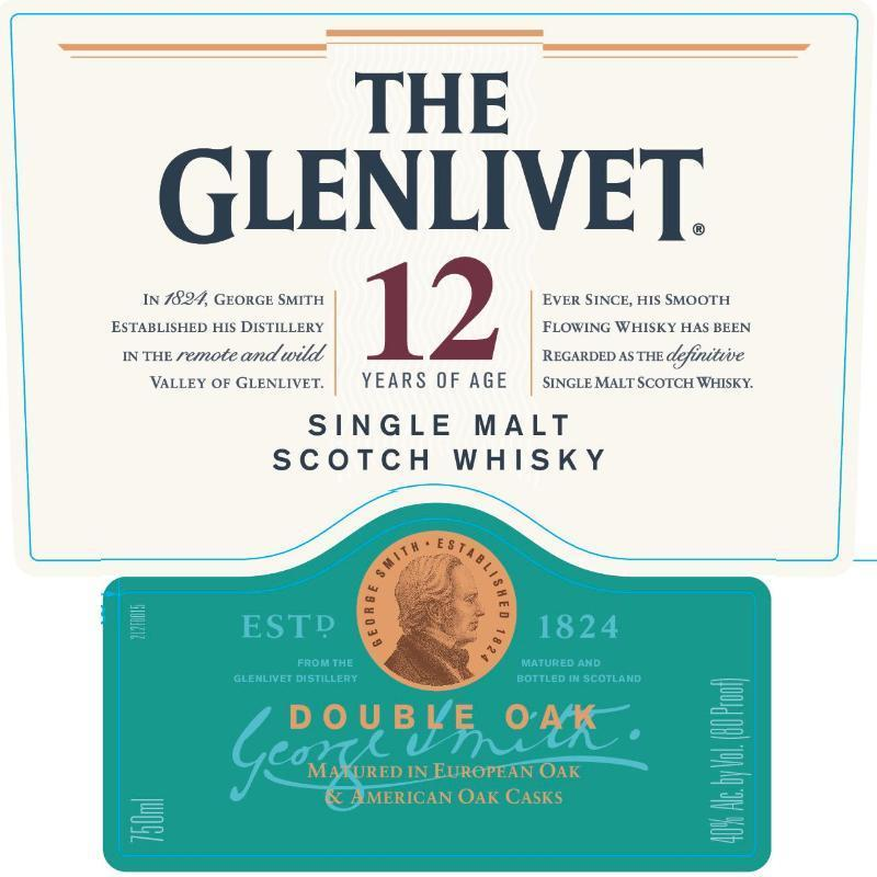 Buy The Glenlivet 12 Year Old Double Oak online from the best online liquor store in the USA.