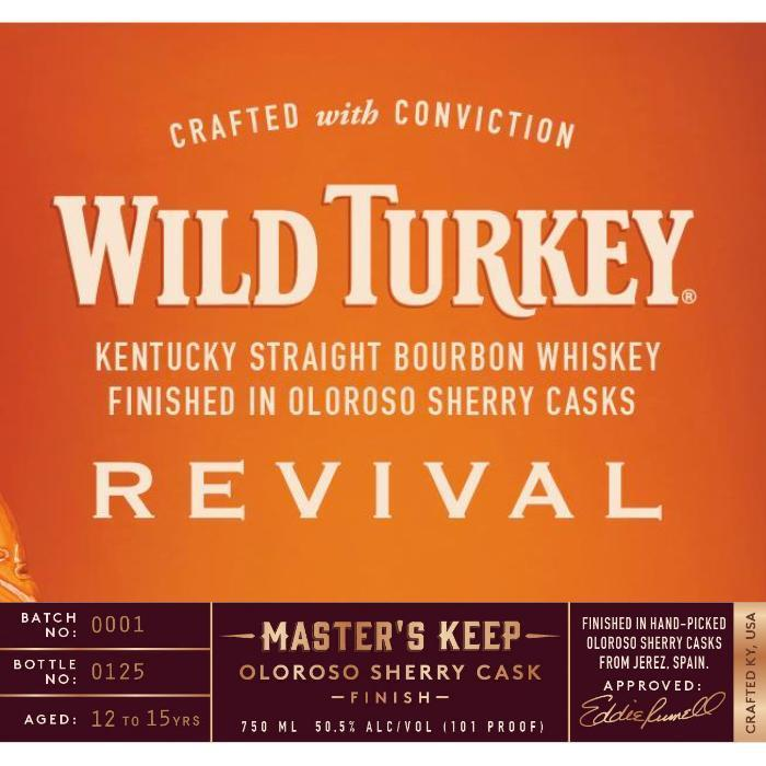 Buy Wild Turkey Master's Keep Revival online from the best online liquor store in the USA.