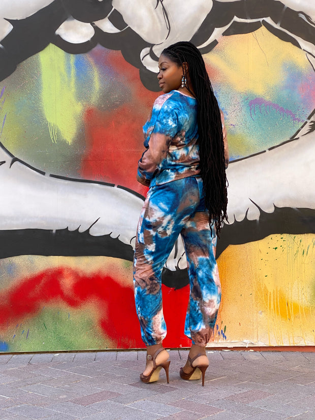 Boho Two Piece Tie Dye Set