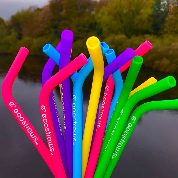 Soft Silicone Straws Selection
