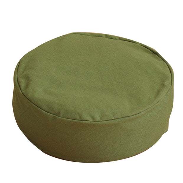 Zippered Filled Meditation Cushion