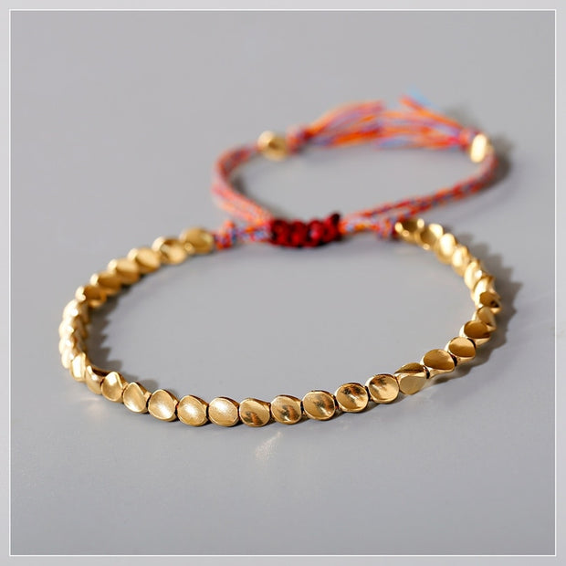 Tibetan Adjustable Copper Bracelet