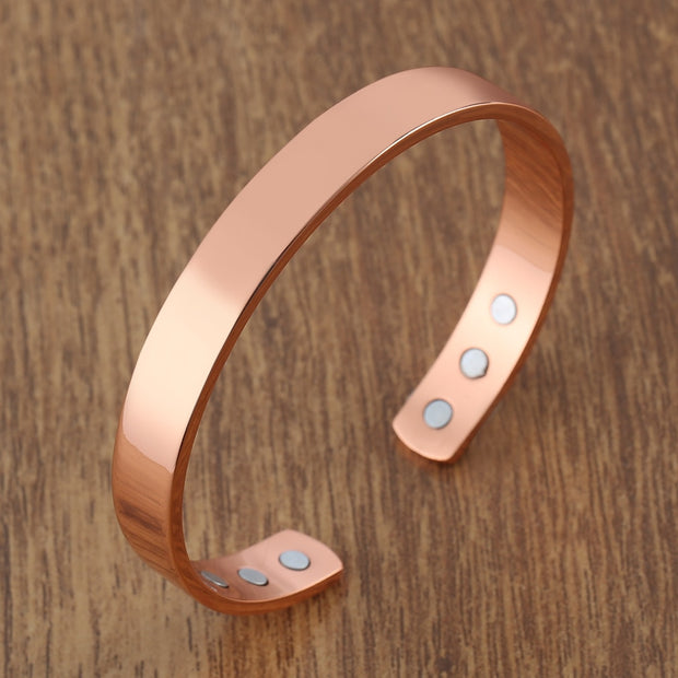 Magnetic Copper Bangle Bracelet