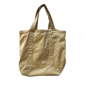 TOTE BAG WITH PAINT