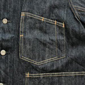 DENIM COVERALL JACKET #1963-715