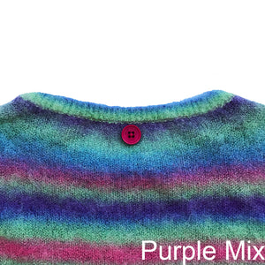 ALPACA NYLON RAINBOW KNIT