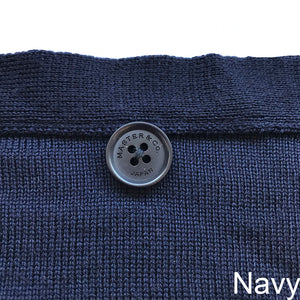 WHOLEGARMENT WASHABLE KNIT CARDIGAN