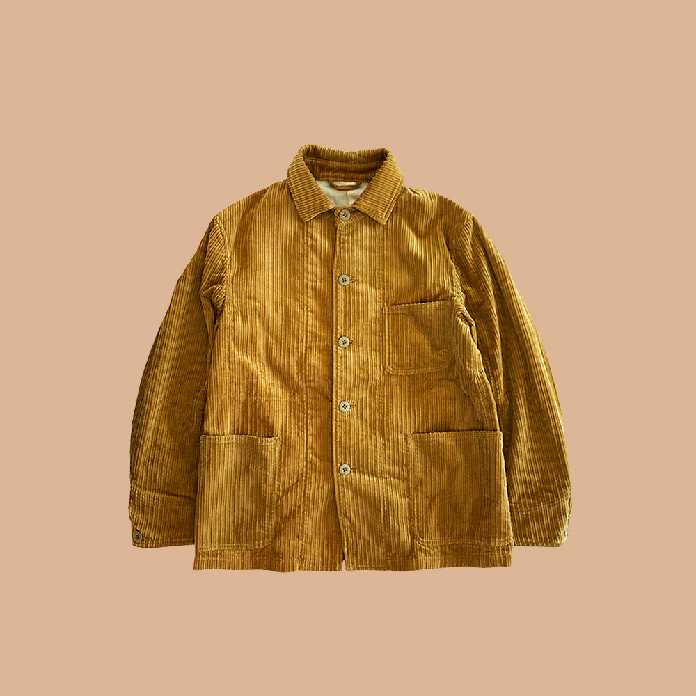 CORDUROY COVERALL JACKET
