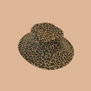 LEOPARD SAFARI HAT