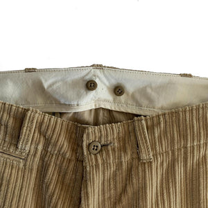 CORDUROY LONG TROUSERS
