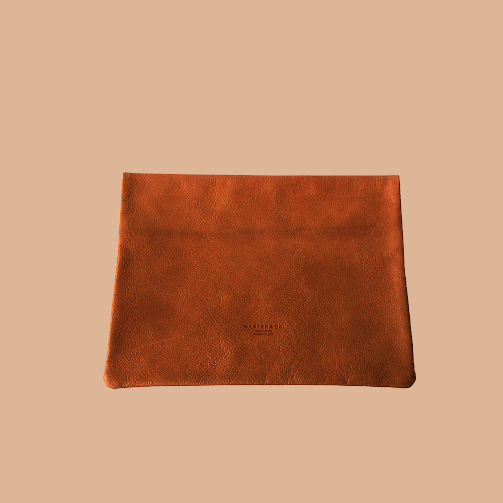 GOAT LEATHER CLUTCH BAG