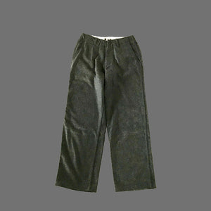 FLANNEL LONG TROUSERS