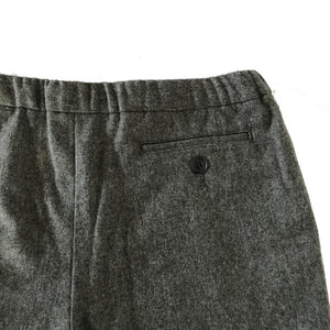 FLANNEL DRAWSTRING TROUSERS