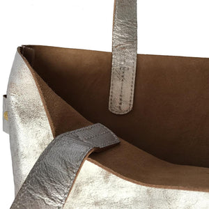GOAT LEATHER  SHOPPER