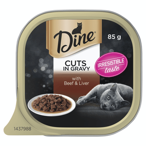 Dine with Beef Liver in Gravy 7x 85g