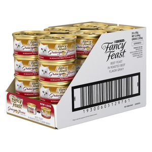 Fancy Feast Gravy Lovers Beef 24x 85g