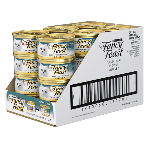 Fancy Feast Grilled Turkey 24x 85g
