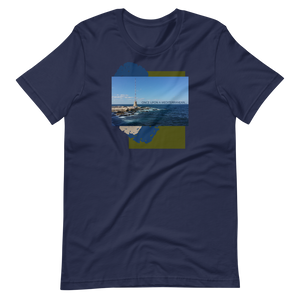 """Once Upon A Mediterranean"" Short-Sleeve Unisex T-Shirt"