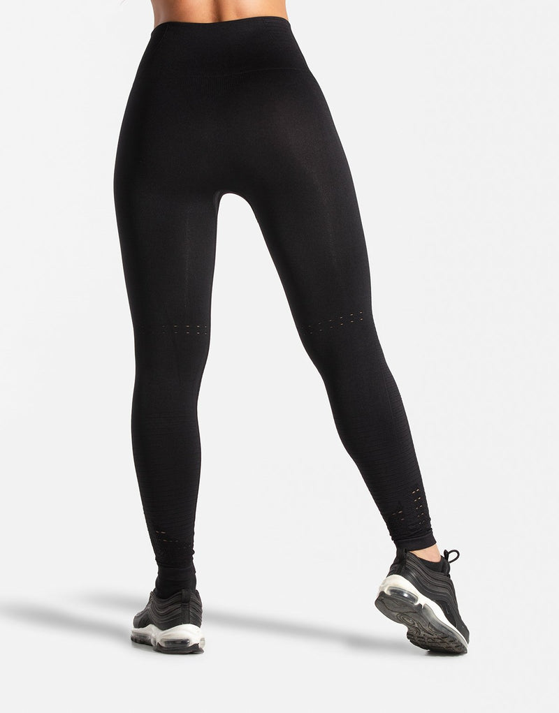 BLACK FLEX SEAMLESS