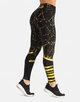 GOLD MARBLE LEGGING