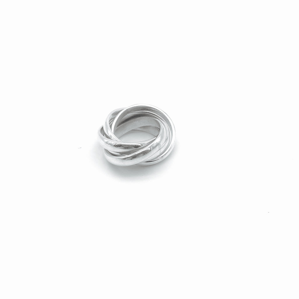 Neenie classic smooth Ring - KazMexico
