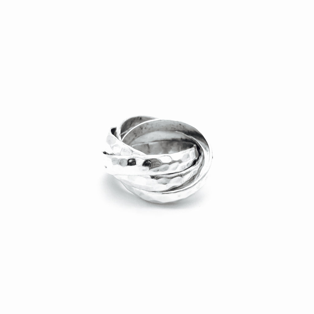 Neenie hammered Ring - KazMexico