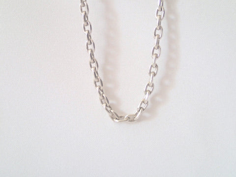 "The ""Kaz"" Medium Length (80cm) Sterling Silver Chain/Necklace"