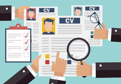 Copies of CV for interview