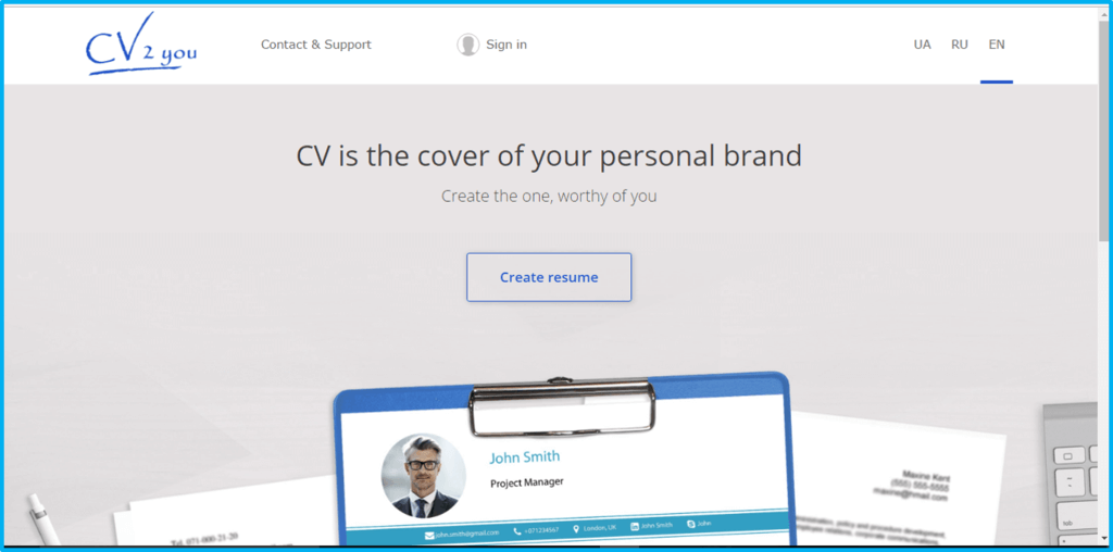 Cv Creator 9 Cv Creators Reviewed And Rated Find The Best One