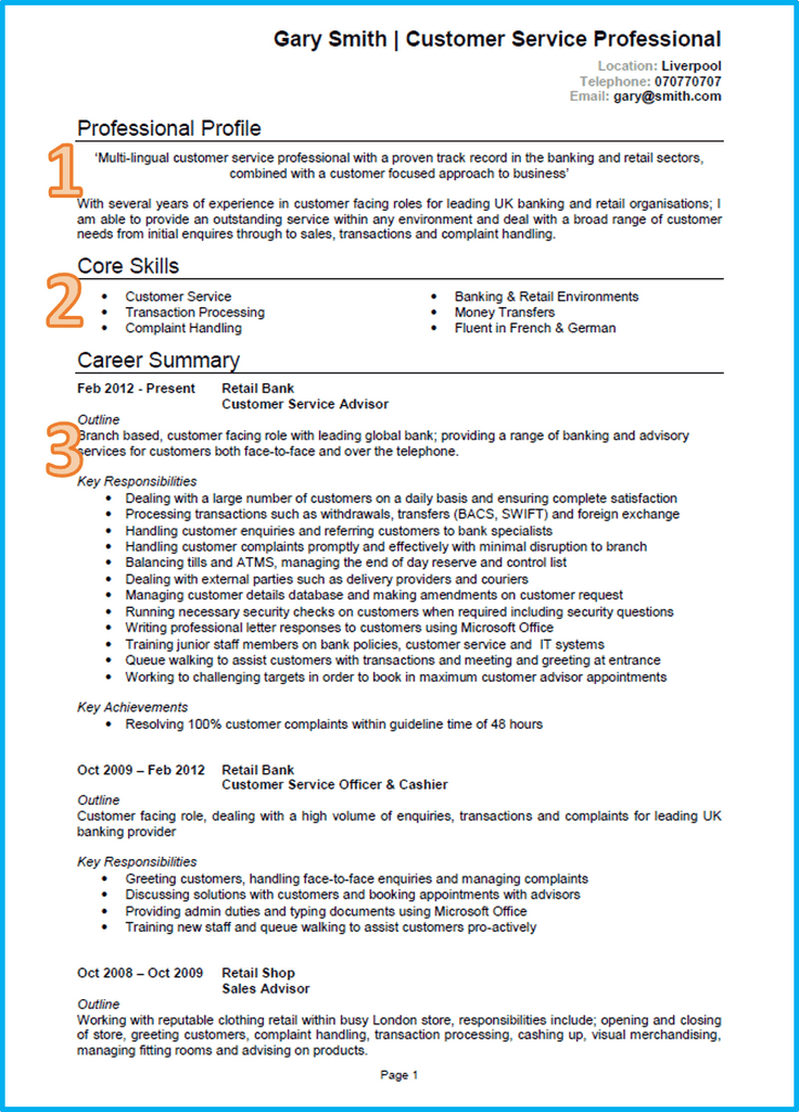 curriculum vitae  u2013 examples  templates  writing guide