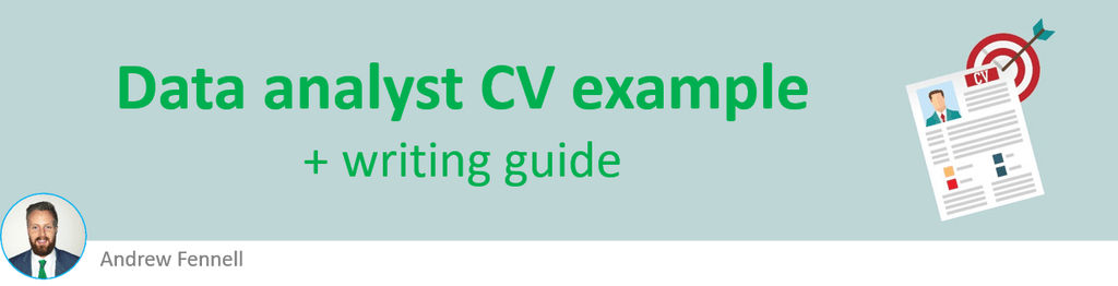 Data analyst CV example + writing guide [Get hired quickly]