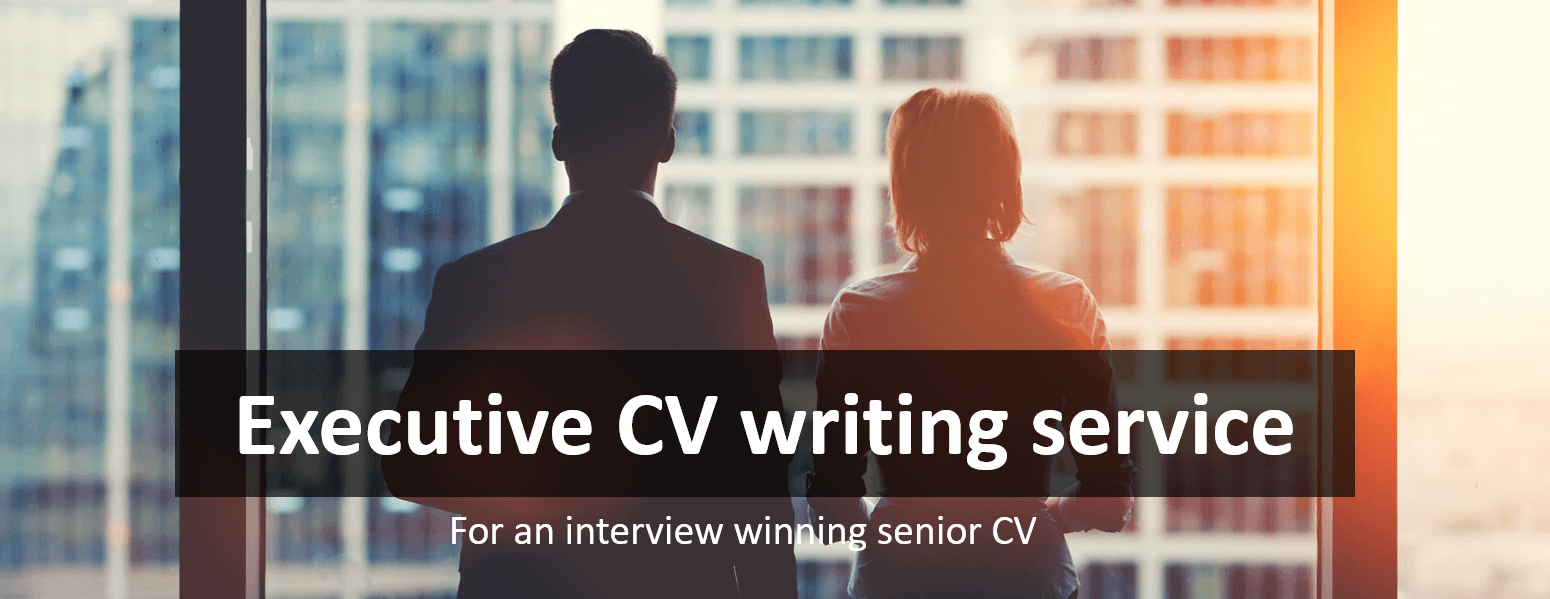What We Need for Your Executive CV
